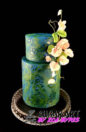A little texture - Cake by Zoe Byres