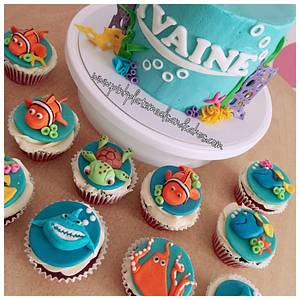 Finding Dory cake for Yvaine - Cake by Pink Plate Meals and Cakes