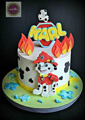 Paw Patrol Birthday Cake - Cake by miettes