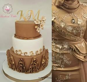 K&m - Cake by mona ghobara/Bonboni Cake
