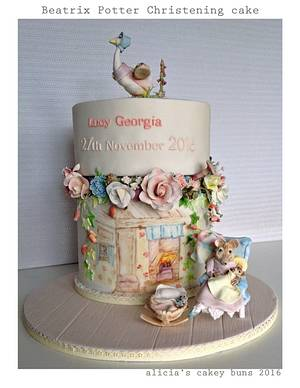 Beatrix Potter Christening / A Mothers Love  - Cake by Alicia's CB