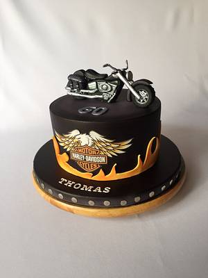 Harley Davidson cake - Cake by Layla A
