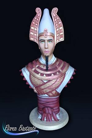 Osiris - Egypt Land of Mystery Collaboration - Cake by Floren Bastante / Dulces el inflón