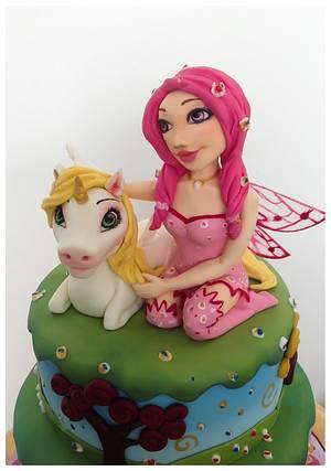 Mia and me - Cake by Mnhammy by Sofia Salvador