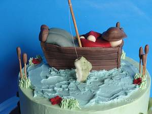 Fisherman - Cake by Kristen