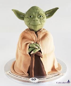 Yoda cake - Cake by Catcakes