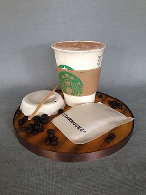 Anyone for coffee? - Cake by Baked4U