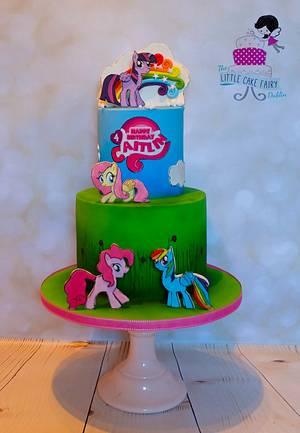 My Little Pony - Cake by Little Cake Fairy Dublin