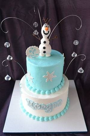 Olaf! - Cake by Susan