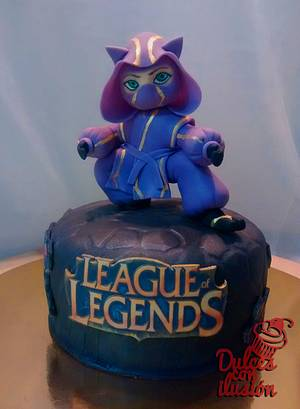 League of Legends cake - Cake by Dulces con ilusion