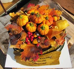 Autumn  - Cake by Ania