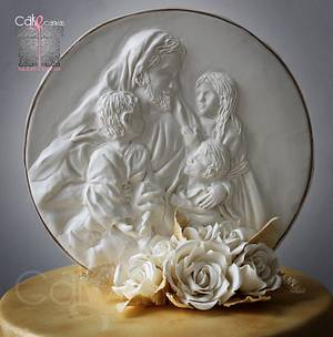 """""""Let the little children come to me..'' - Cake by Anna Mathew Vadayatt"""