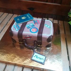 Luggage cake - Cake by Cakeaya