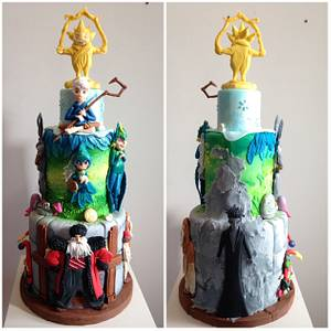 Rise of the Guardians - Cake by Decotortas
