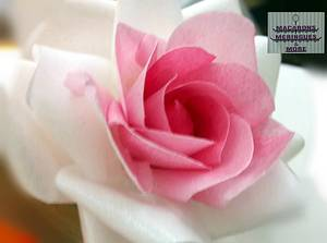 Wafer Paper Ombre Rose  - Cake by RupalsCakes (MACARONS MERINGUES &MORE )