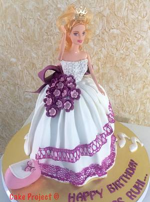Doll Cake for a Little Princess - Cake by Cake Project - Baking Passion