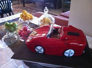 Ferrari Birthday Cake - Cake by Dell Khalil