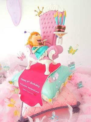 Fancy Nancy - Cake by Svetlana Petrova