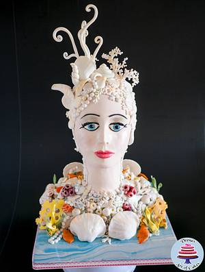 Lady of the Sea - Cake by Veenas Art of Cakes