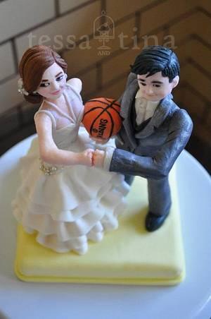Fist Bump - Cake by tessatinacakes