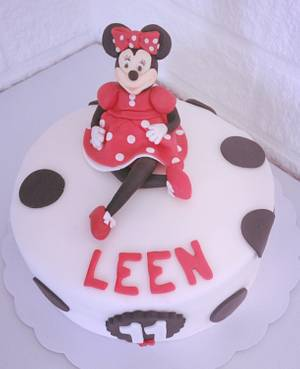 Minnie Mouse cake - Cake by Hartenlust