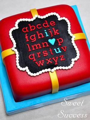 I Love You Cake - Cake by Sweet Success