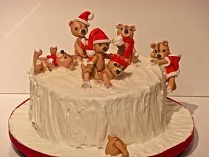 snowmuch fun :)  - Cake by Ellie @ Ellie's Elegant Cakery