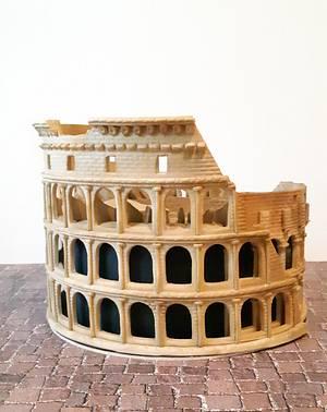 Colosseum cake - Cake by Katty