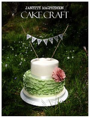 Vintage sweet sixteen birthday cake - Cake by Janette MacPherson Cake Craft