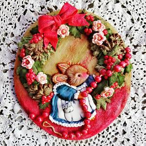 Decorando Navidad. - Cake by Yolanda