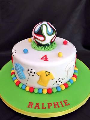 Brazil! Brazil!  - Cake by The Cake Bank