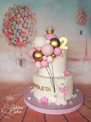 Ballon cake - Cake by Zaklina