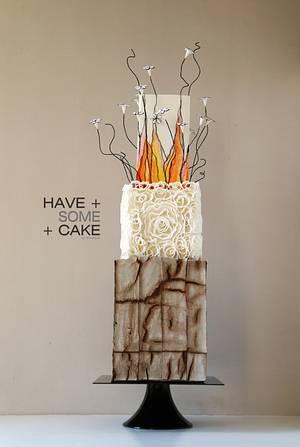 Spanish Affair - Cake by Enrique