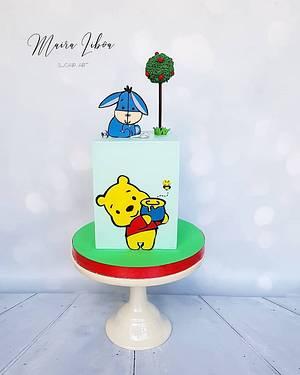 Winnie Pooh - Cake by Maira Liboa