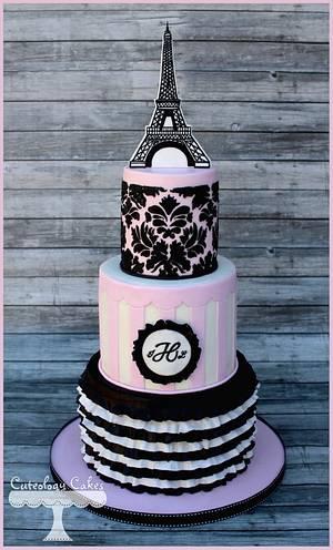 Paris Cake - Cake by Cuteology Cakes