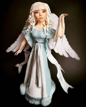 Christmas Angel - Cake by Lukrowe Czary Katarzyna Osiecka