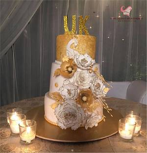 The Bling Peacock - Cake by The Secret Ingredient