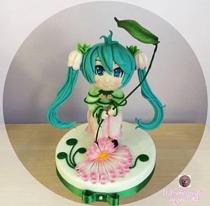 My Sweet little Flora - Cake by Carla Poggianti Il Bianconiglio