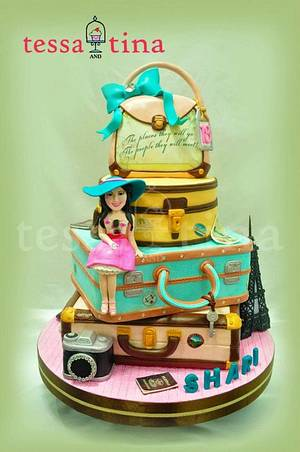 Travel Themed cake - Cake by tessatinacakes
