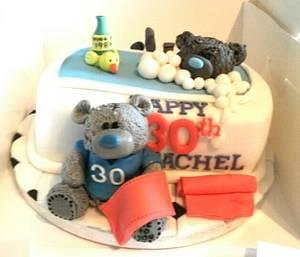 Me2u 30th Birthday Cake - Cake by Babbaloos Cakes