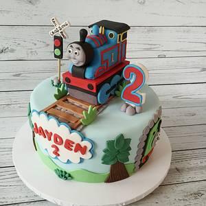 Thomas Train - Cake by funni