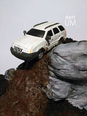 Trial Jeep car - Cake by dortUM