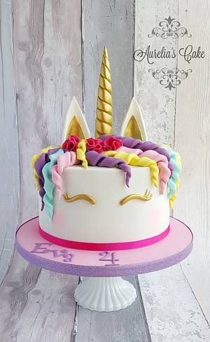 Unicorn cake :) - Cake by Aurelia's Cake