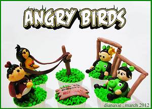 Angry Birds - Cake by Diana
