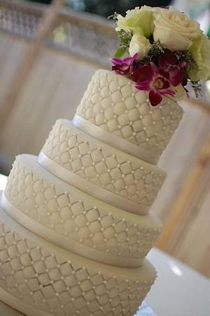 Wedding cake - Cake by TheSweetFlour