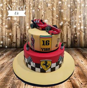 Birthday cake for my son  - Cake by Gabriela Doroghy