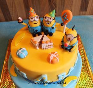 Minions - Cake by Adéla