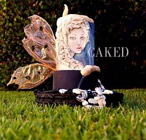Melusine:  Contribution to Sugar Myths and Fantasies Collaboration - Cake by CAKED By Cynthia White