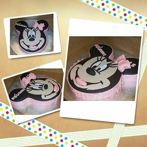 Minnie Mouse - Cake by Tee Tee's Sweets