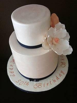 The Sugar Nursery's Magnolia Fantasy Cake - Cake by The Sugar Nursery - Cake Shop & Imaginarium